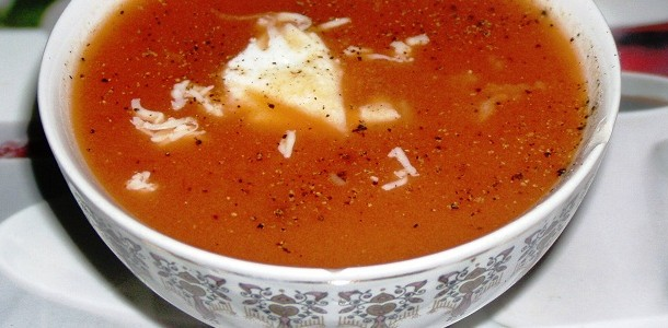Cream of Tomato soup Feat