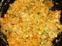 Prawns mixed in masala
