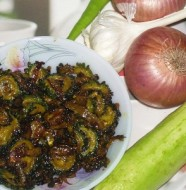 Sweet Sour Karela Fry Feat