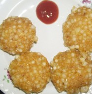 Sago Fritters Feat
