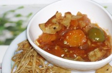 Sweet Sour vegetables Feat