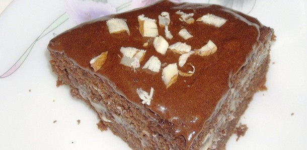 Rich chocolate cream cake Feat
